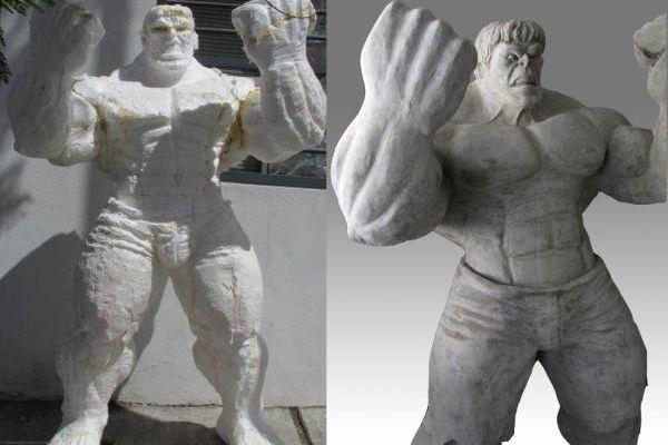 coated foam sculpture in cabo